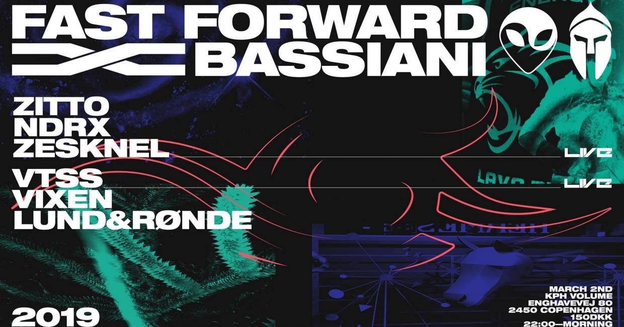Fast Forward x Bassiani